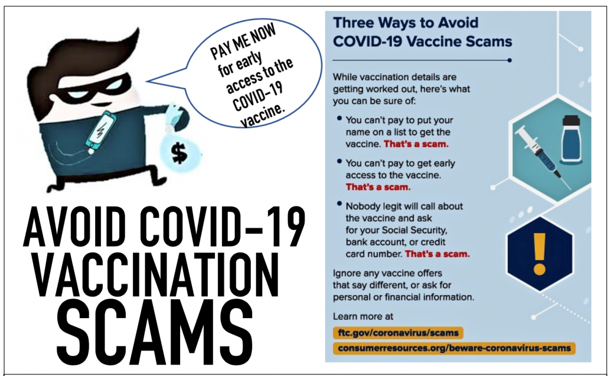 Avoid Covid-19 Vaccination Scams
