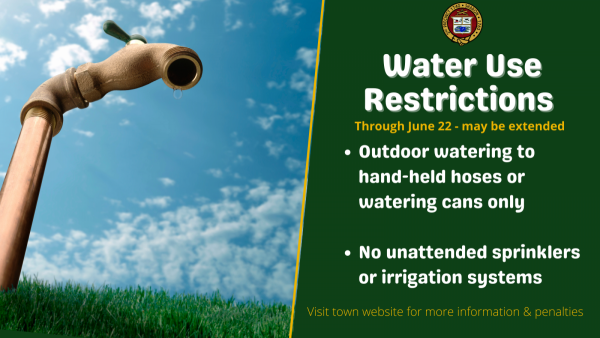 Sharon Water Use Restrictions 2021