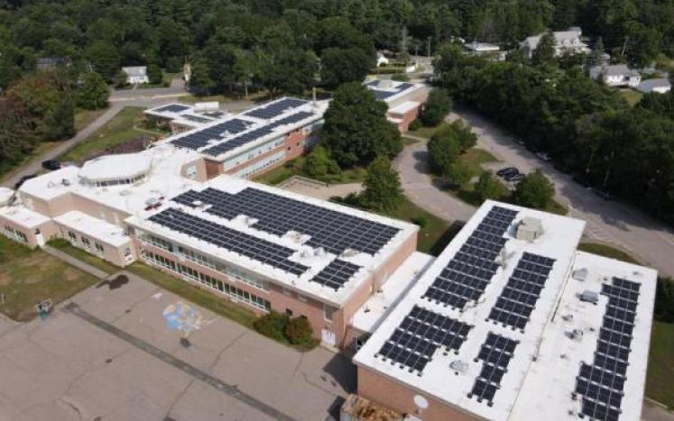 Heights Elementary solar array