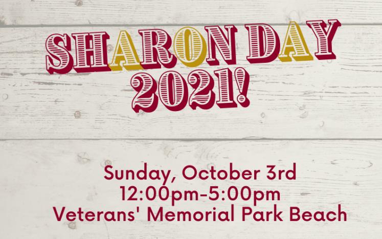 Sharon Day 2021 Volunteers Needed